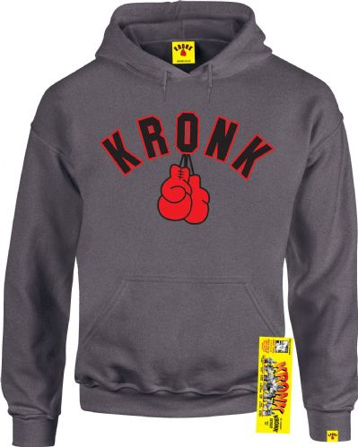 Kronk Boxing Glove Hoody - Charcoal